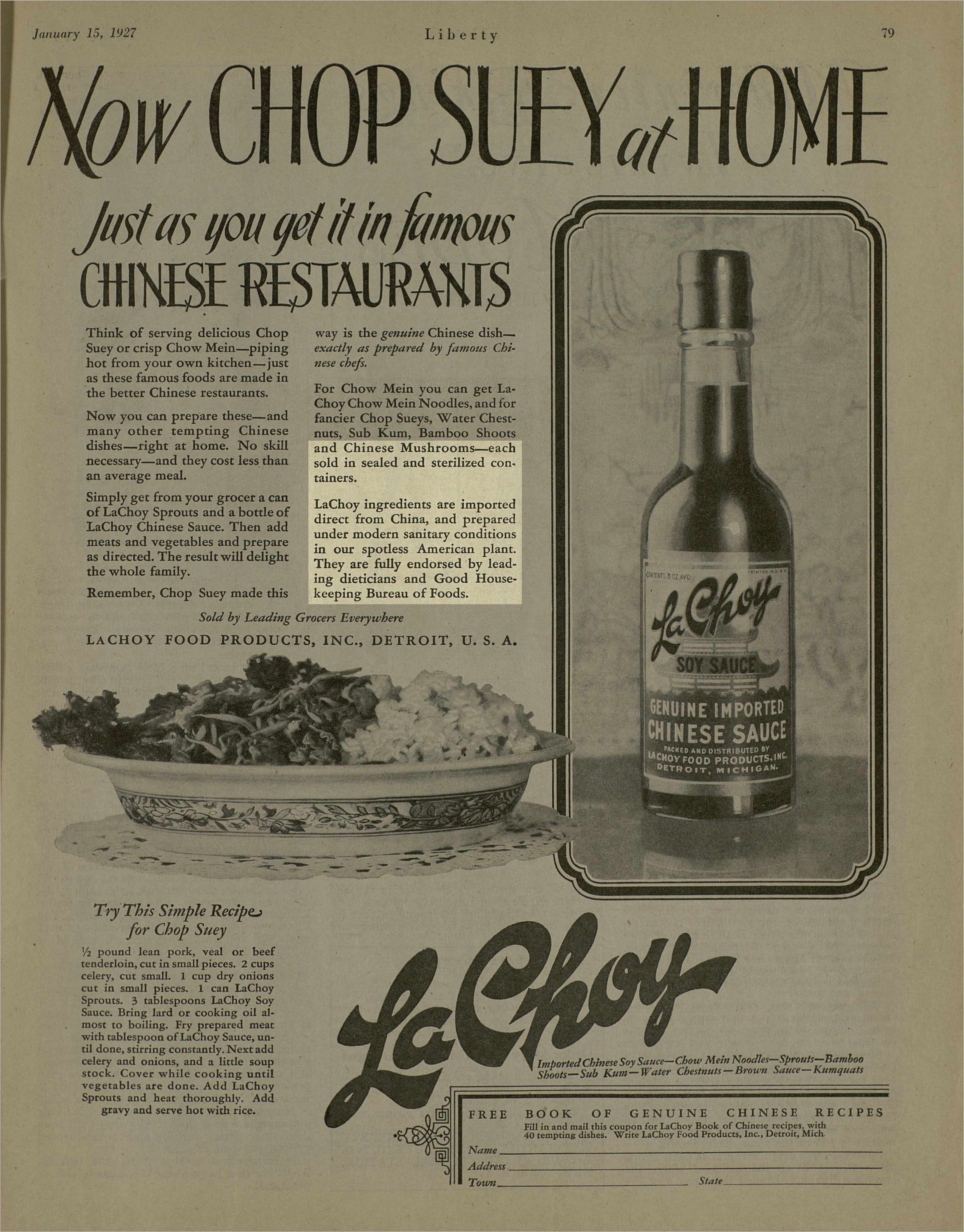 Now Chop Suey At Home · Intro to Digital Humanities Fall 2018